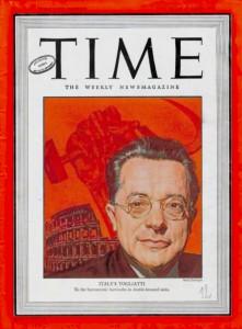 La copertina di Time nel 1947 dedicata a Palmiro Togliatti